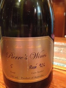 Pierre's Wines Sparkling Rose (926)
