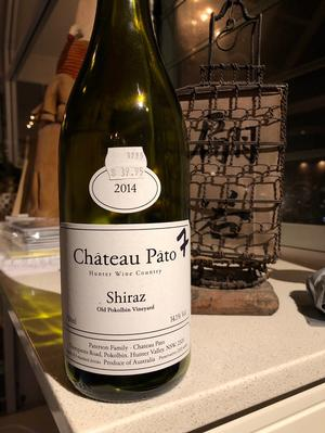 Chateau Pato Shiraz 2014